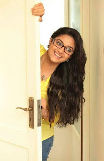 Keerthy Suresh in Yellow Color Dress with Cute and Awesome Smile