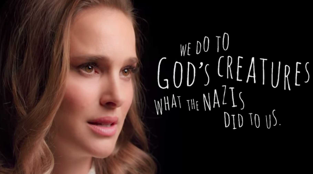 Natalie Portman Compares Eating Meat To The Holocaust In PETA Video