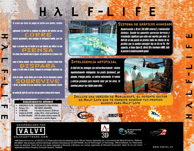 Half-Life Estuche CD