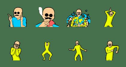 Mr. Bald: Transformation