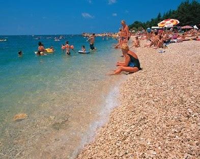 porec strand, porec, istrien, urlaub region istrien, kroatien urlaub, kroatien,