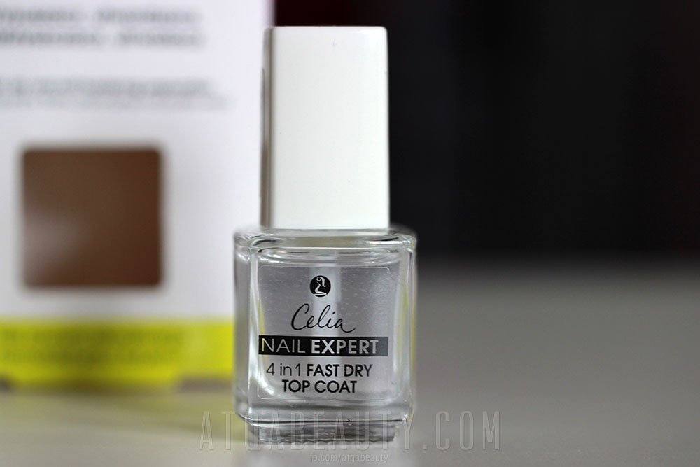 Celia Nail Expert 4 in 1 Fast Dry Top Coat