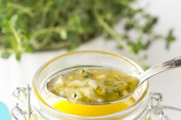 Whole Lemon Thyme Salad Dressing