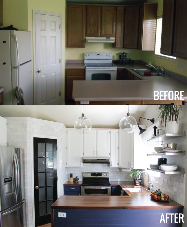 Kitchen Sink Bump Out: The Kitchen: Before And Afters!