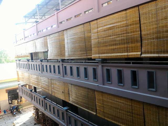 công trình mành tre trúc việt sun giá rẻ