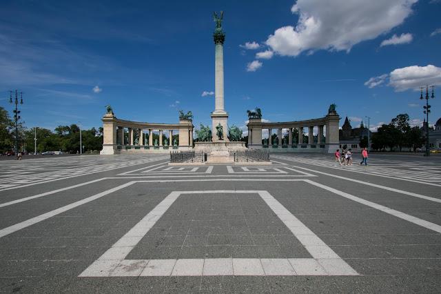 Monumento del Millenario-Budapest