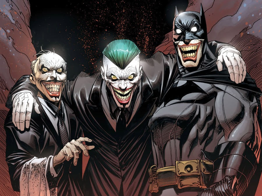 batman and joker dc comics
