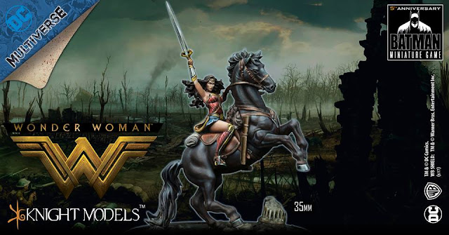 Wonder Woman of War Horse