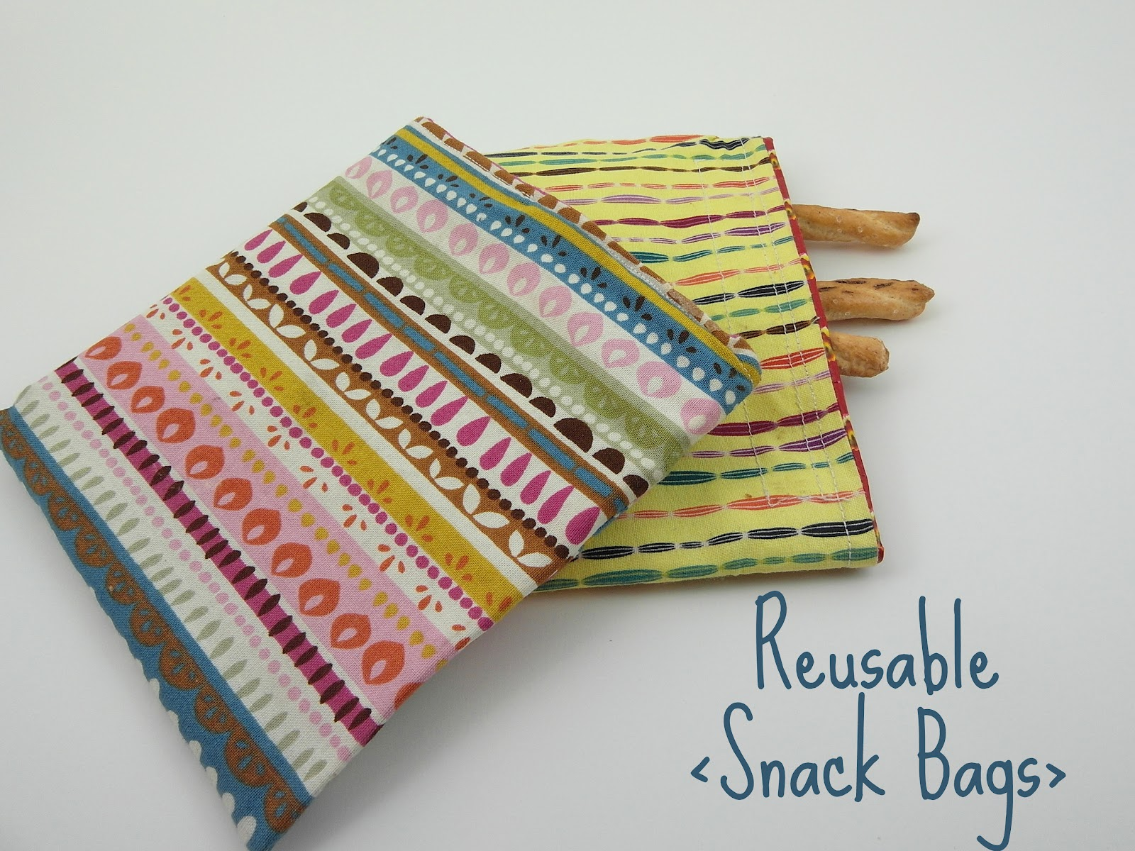 Update Find My Recent Tutorial For Reusable Snack Bags Here