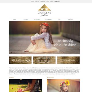 New Shop Design offers classical pre-made custom themes for Storenvy shops