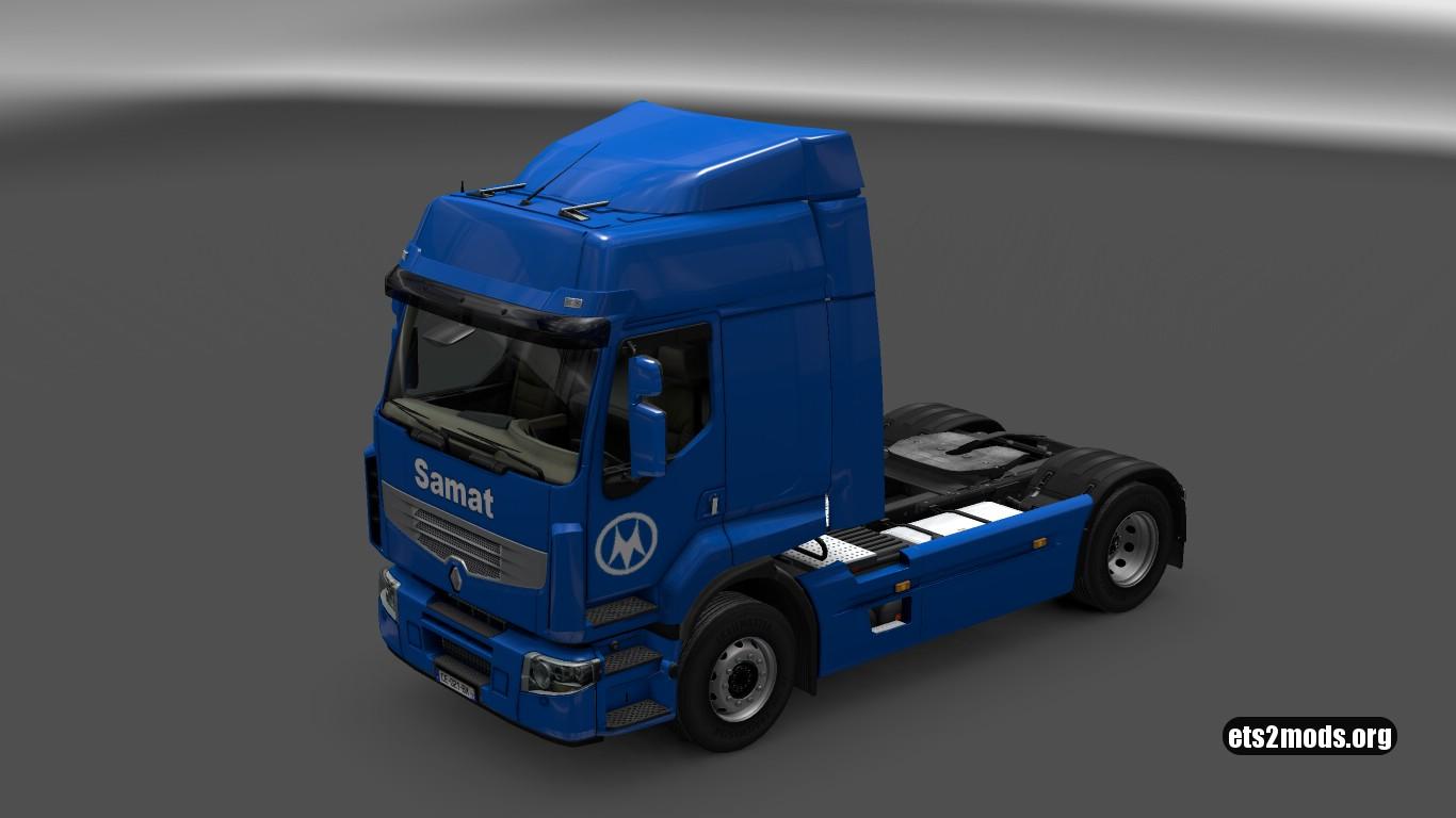 Samat Skin for Renault Premium
