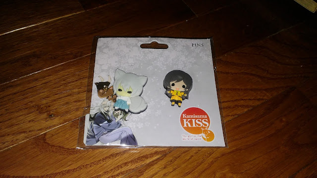 RightStuf Review : $1 Blind box -  Kamisama Kiss SD Tomoe and Nanami pin set