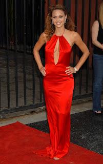 Super Model Josie Maran Long Dress