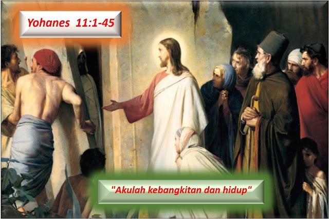 Yohanes 11:1-45