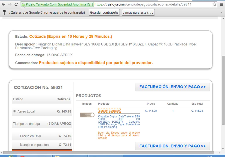 1afa39b53 Aunque espere varios días para que llegara mi producto