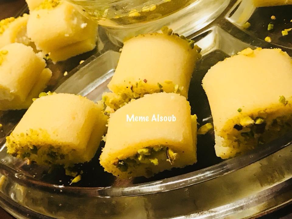 مكونات حلاوة الجبن