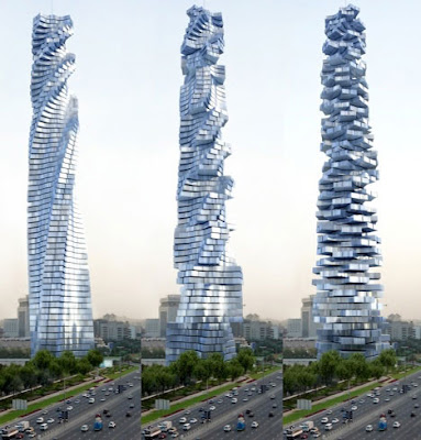 rotating towers