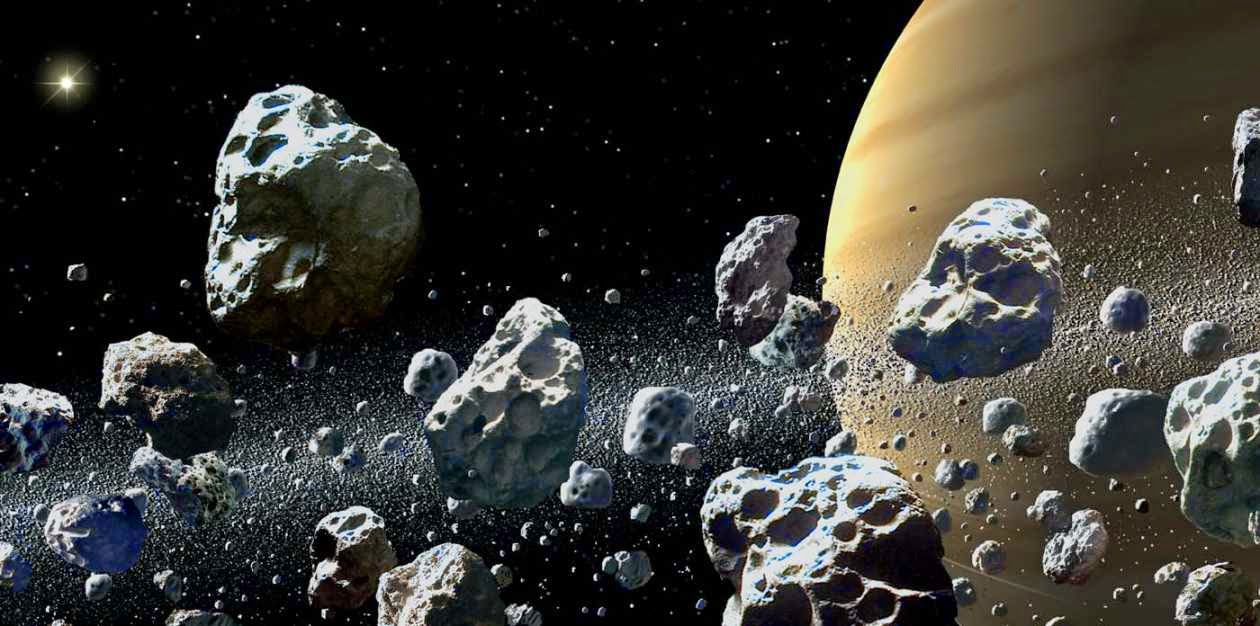 Meteoritos en el sistema solar