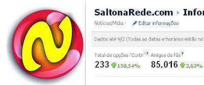 PageUp do Saltonarede.com no Facebook