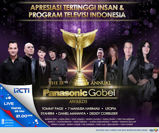 Nominasi Pemenang Panasonic Gobel Awards 2015