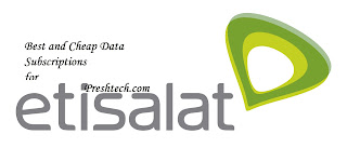 Cheap/Best Etisalat Data Plans For PC, Android, iOS, Windows 2017