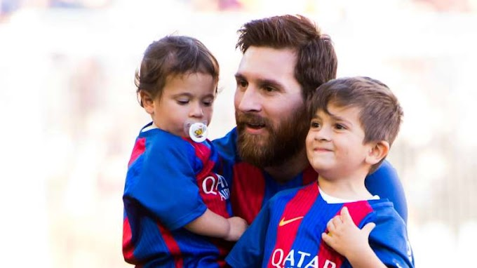 Messi: 'My son Thiago criticises me'