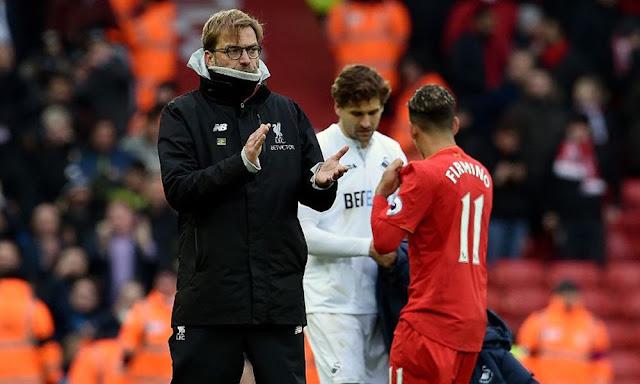 Kekalahan Liverpool Lawan Swansea City Buat Klopp Frustasi
