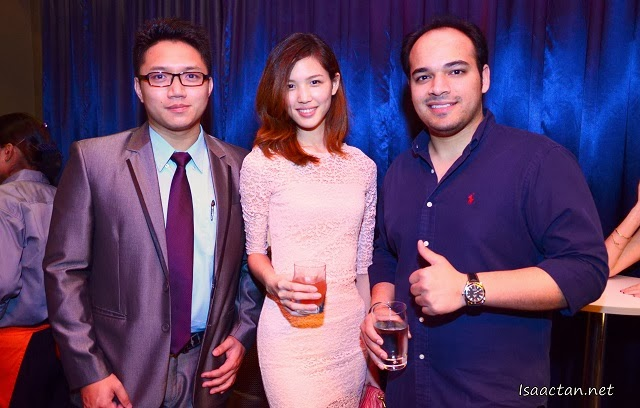 The folks behind Porcelene Jazz, Mr Arnav Anand, and Mr Ng Kien Boon
