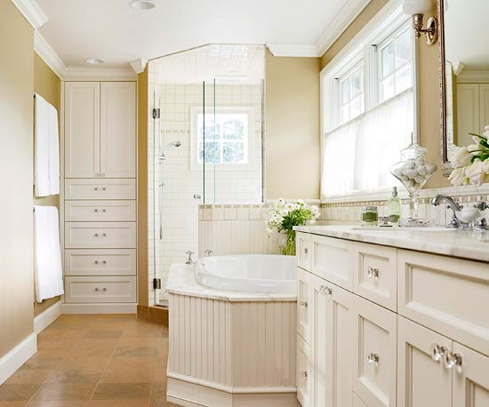 Bathroom decorating design ideas 2012 with neutral color for Bathroom color ideas 2014