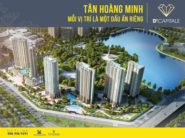 Dự án Vinhomes D'. Capitale Trần Duy Hưng