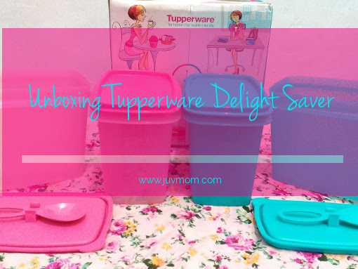 Unboxing Tupperware Delight Saver