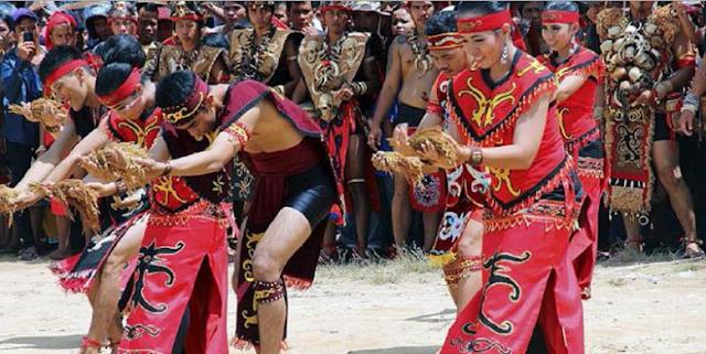 Naik Dango, Ritual Panen Suku Dayak Kanayatn