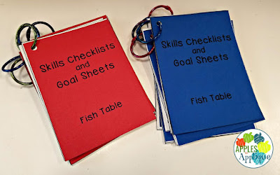 IEP Goal Data Collection Cards | Apples to Applique