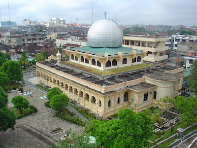 Masjid Raya Pekanbaru, Wisata Sejarah