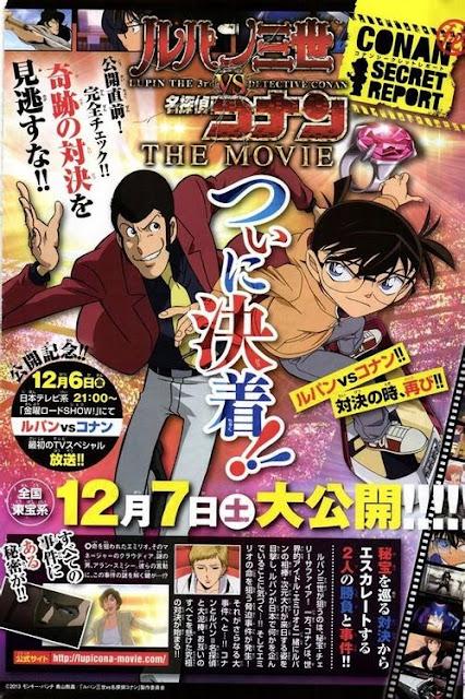 Lupin III đối đầu Thám tử Conan (thuyết minh) - Lupin III vs. Conan