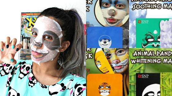 mascara facial de bichos coreana snp