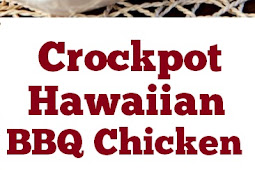 Crockpot Hawaiian BBQ Chicken #easychickenrecipe #BBQ #chicken #crockpot #hawaiian #easydinner #partyfood #whole30