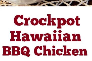 Crockpot Hawaiian BBQ Chicken #easychickenrecipe #BBQ #chicken #crockpot #hawaiian #easydinner #partyfood #whole30