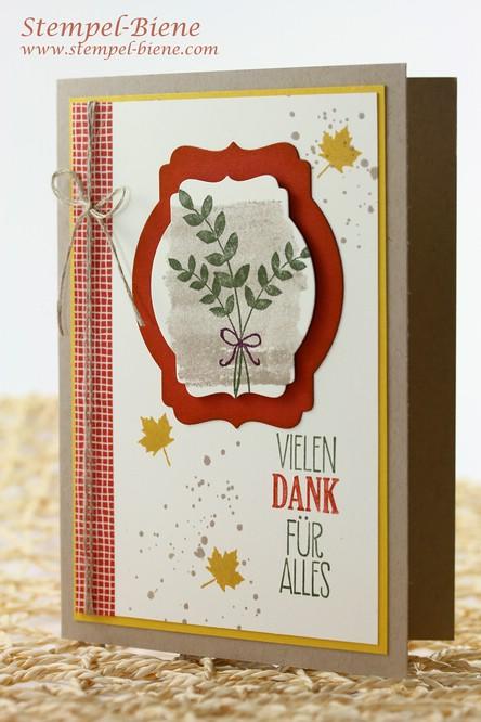 Stampin' Up Herbstfarben, Stampin' Up Herbstkarte, Stampin' Up Bestellen, Stampin' Up Herbst-/Winterkatalog