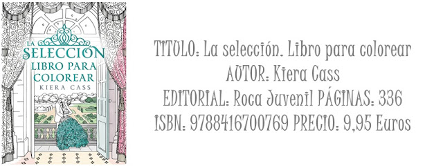 Foto reseña: la seleccion (libro para colorear)