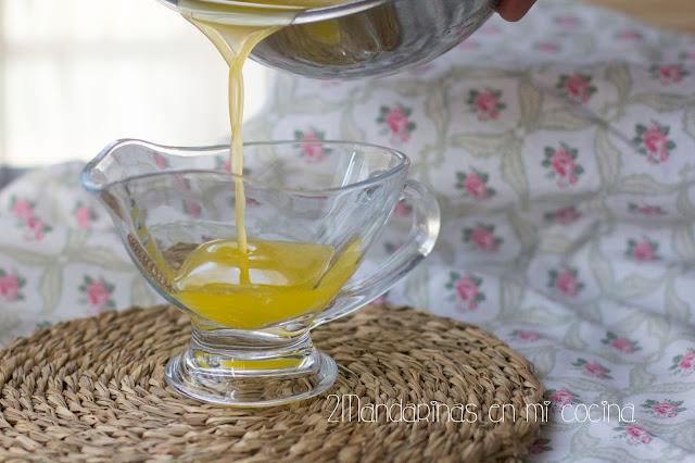 Mantequilla clarificada. Qué es y cómo se prepara