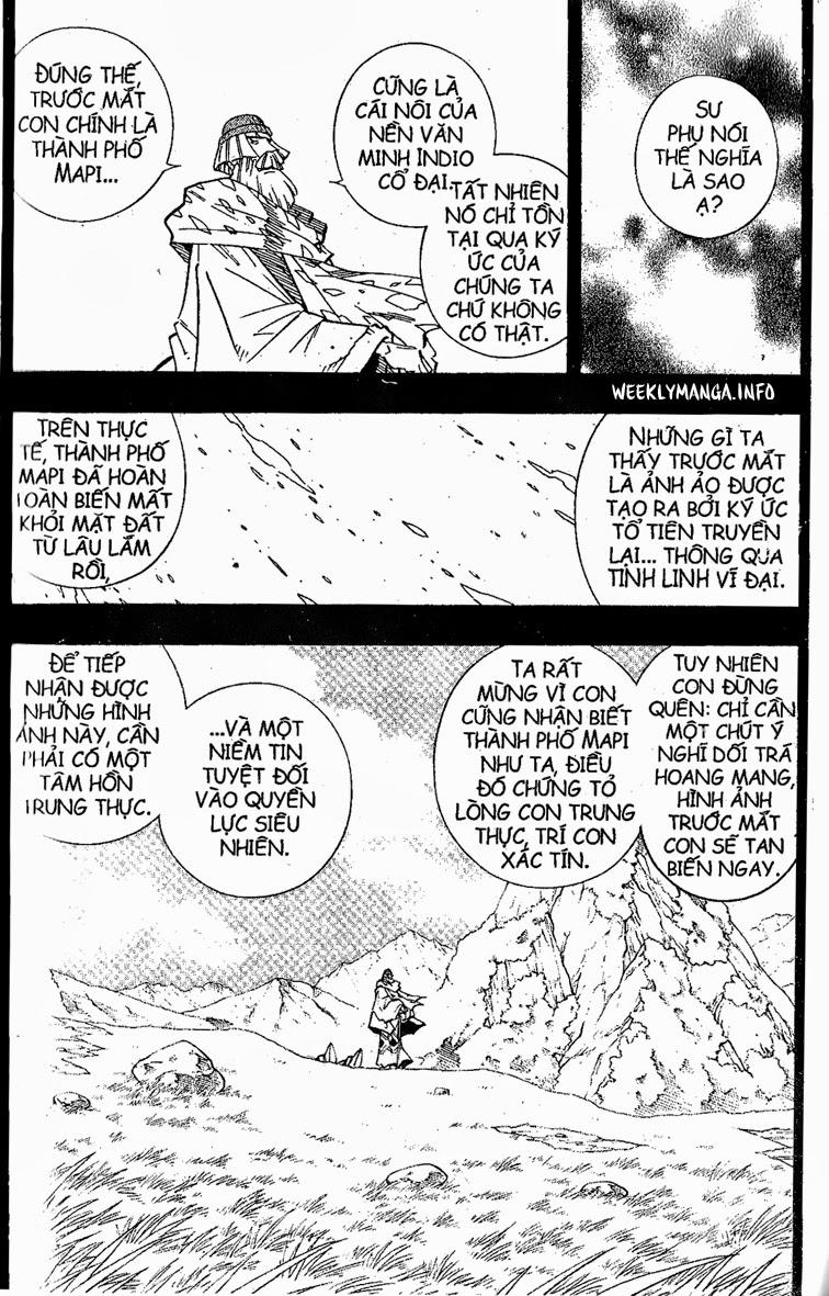 Shaman King [Vua pháp thuật] chap 204 trang 17