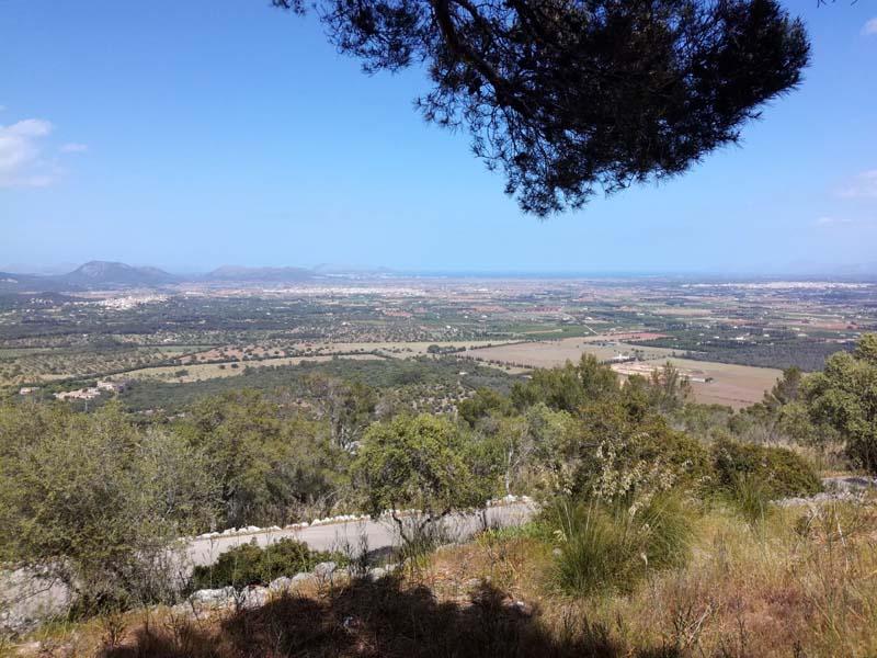 Vista dal Puig de Santa Magdalena