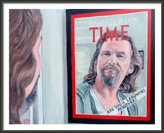 Man of the Year Jeffery Lebowski by Boulder artist Tom Roderick