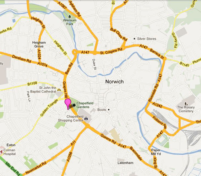 norwich chapelfield christmas lights switch on 2018