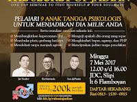 SEMINAR THE SECRET OF JADIAN Besok Digelar di JDC Slipi Jakarta