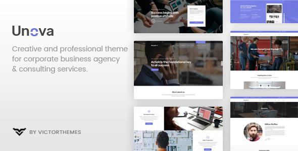 Unova v1.4 – Consulting Business WordPress Theme