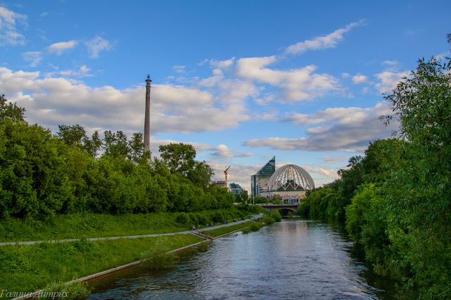 Река Исеть фото