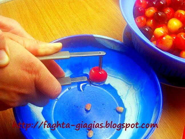 Τα φαγητά της γιαγιάς - Κεράσι γλυκό του κουταλιού