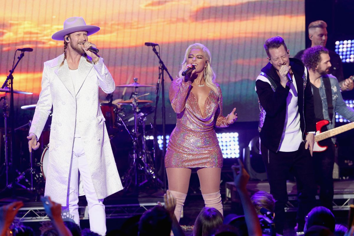 Bebe Rexha Performing at Dick Clark's New Year's Rockin' Eve